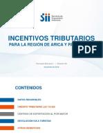 Incentivos Tributarios Para La Región de Arica y Parinacota