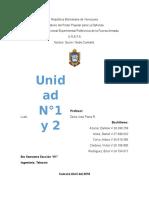 Trabajo Unidad 1 y 2 Defensa
