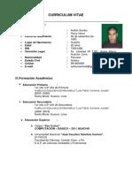 Percy Ardian Curriculum Vitae (1)