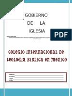 (131) Gobierno de La Iglesia,-Folleto Vane
