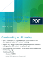 Cross Launch Jabber IOS Clients