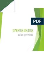 DIABETUS MELITUS