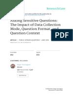 Asking Sensitive Questions_Paper Chap 9