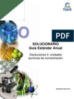 2015 Solucionario Clase 15 Disoluciones II Unidades Químicas de Concentración