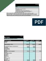 Exemplo de orçamento mensal