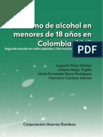 Corp Nuevos Rumbos Consumo de en Menores en Colombia Estudio Diciembre 2015