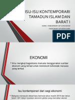 Isu-Isu Kontemporari Tamadun Islam Dan Barat Dari Segi