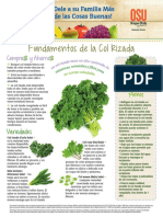 October Kale Monthly Spanish