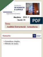 Mecánica - Armaduras