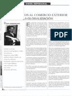 LOS SERVICIOS AL COMERCIO EXTERIOR