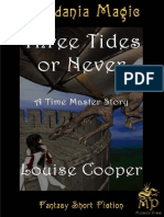 Three Tides or Never - Louise Cooper