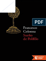 Sueno de Polifilo - Francesco Colonna