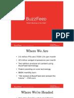 Buzzfeed Pitch Deck