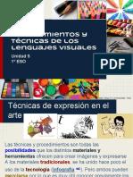 Procedimientos y Tecnicas de Los Lenguajes Visuales