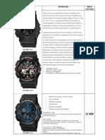 Catalogo Relojes 1