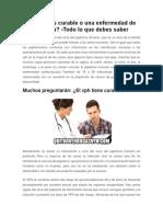 ¿El VPH es curable o una enfermedad de por vida? -Todo lo que debes saber