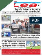 Periódico Lea Lunes 09 de Abril Del 2018