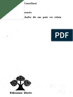 Castellani Critica Literariapdf Poesía Ciencia Filosófica
