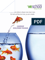 WeSchool LDP Brochure