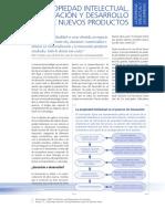 Propiedad Intelectual, Innovación y Desarrollo de Nuevos Productos