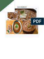 Project of Punjabi Recipes