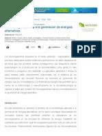 Microorganismos Para La Producción de Los Biocombustibles - Engormix