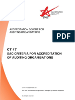 CT 17 - SAC Criteria for Auditing Organisations - Sep 17