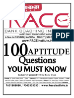 100 Aptitude Questions u Must Know