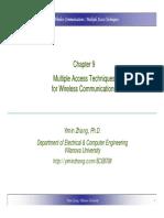 Wirelss Modulation Schemes
