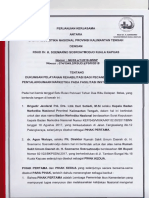 Perjanjian Kerjasama BNN Provinsi Kalteng Dengan RSUD Dr. H. Soemarno Sosroatmodjo Kuala Kapuas