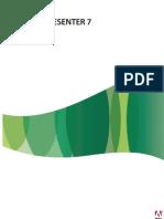 Guía del usuario de Adobe Presenter 7