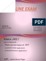 ONLINE EXAM MANAGEMENT SYSTEM PROJECT REPORT PPT.pptx