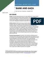 2016West Bank & Gaza IMF RR