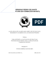 LA INFLUENCIA DE UN ADECUADO HÁBITO DE ESTUDIO EN EL RENDIMIENTO ACADÉMICO EN LOS NIÑOS DE PRIMARIA