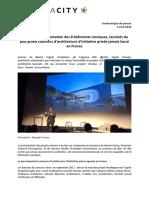 Communiqué de Presse EuropaCity - Événement 4 Avril 2018