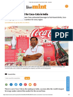 Fruit's the Real Deal for Coca-Cola in India - Livemint