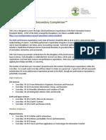 Blueprint Fact Sheet Science