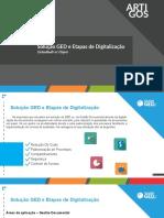 Solucao GED Etapas de Digitalizacao de Documentos