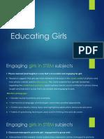 educating girls