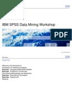 SHORT-P01-IBM SPSS Data Mining Workshop-Presentation
