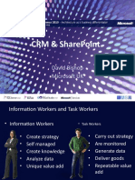 SOL12 CRM and SharePoint