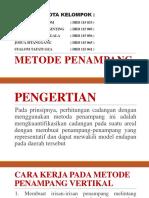 Pc Tugas Kelompok Metode Penampang