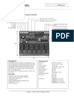 Resistance Output Module_Analoog Weerstand_ROM-P