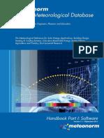 Meteornorm 7 - Handbook Part I - Software