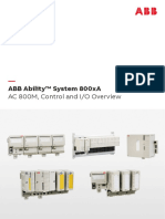 Ok J ABB Ability TM System 800xA AC 800M Control and IO Overview
