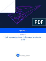 LightSOFT V13.2 Fault Management and Performance Monitoring Guide