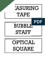 Tagging Engineering Survey Laboratory