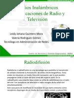 Diapositivas Comunicación de Radio y Television