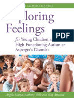 Exploring Feelings for Young Children With High Functioning Autism or Asperger s Disorder the STAMP Treatment Manual