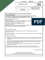 DIN en ISO 17640 E 2016-04 Principios Para Soldadura